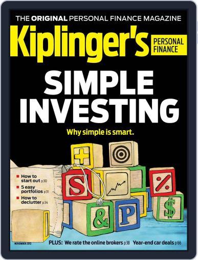 Kiplinger's Personal Finance (Digital) September 27th, 2012 Issue Cover