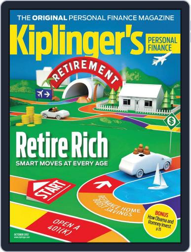 Kiplinger's Personal Finance (Digital) August 23rd, 2012 Issue Cover