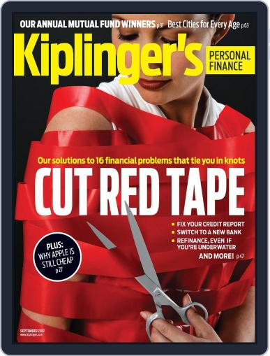 Kiplinger's Personal Finance (Digital) July 25th, 2012 Issue Cover