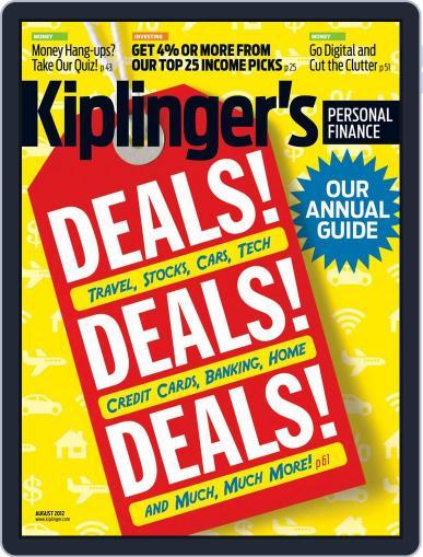 Kiplinger's Personal Finance (Digital) June 20th, 2012 Issue Cover