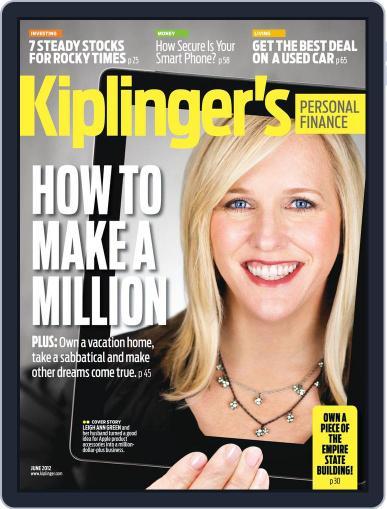 Kiplinger's Personal Finance (Digital) April 25th, 2012 Issue Cover