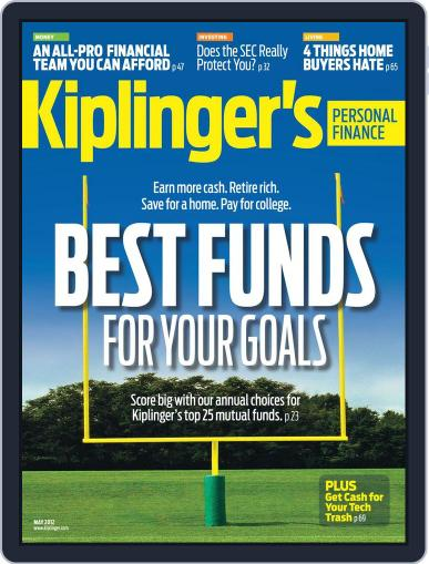 Kiplinger's Personal Finance (Digital) March 28th, 2012 Issue Cover
