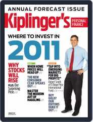 Kiplinger's Personal Finance (Digital) Subscription December 1st, 2010 Issue
