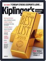 Kiplinger's Personal Finance (Digital) Subscription October 27th, 2010 Issue