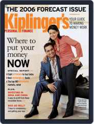 Kiplinger's Personal Finance (Digital) Subscription December 29th, 2005 Issue