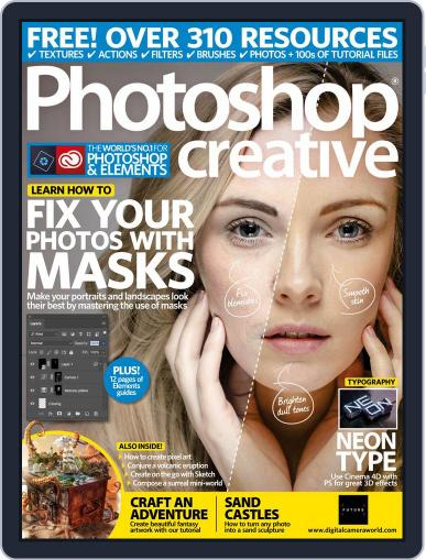 Photoshop Creative September 1st, 2018 Digital Back Issue Cover