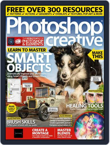 Photoshop Creative August 1st, 2018 Digital Back Issue Cover