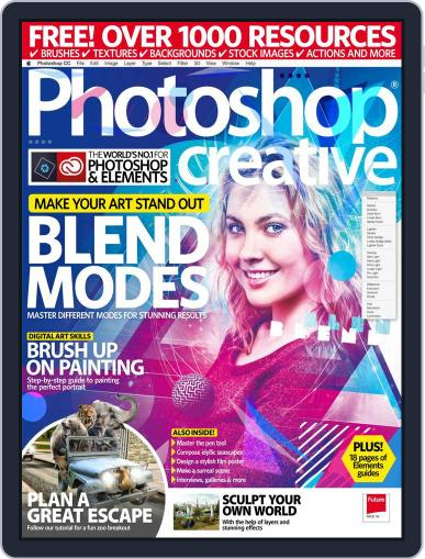 Photoshop Creative October 1st, 2017 Digital Back Issue Cover