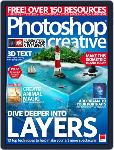 Photoshop Creative July 1st, 2017 Digital Back Issue Cover