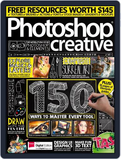 Photoshop Creative May 1st, 2017 Digital Back Issue Cover