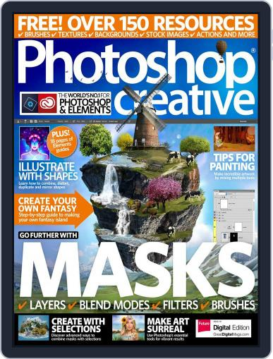 Photoshop Creative March 30th, 2017 Digital Back Issue Cover
