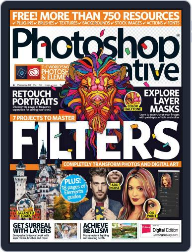 Photoshop Creative March 1st, 2017 Digital Back Issue Cover