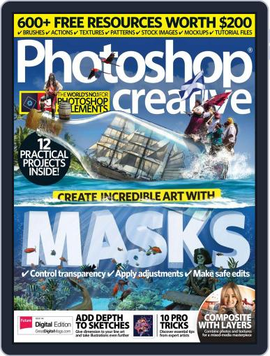 Photoshop Creative January 1st, 2017 Digital Back Issue Cover