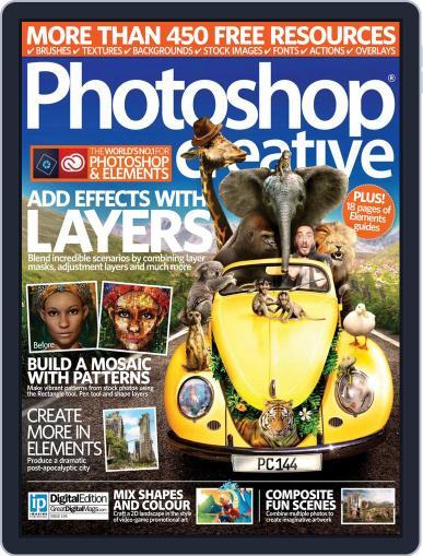 Photoshop Creative November 1st, 2016 Digital Back Issue Cover