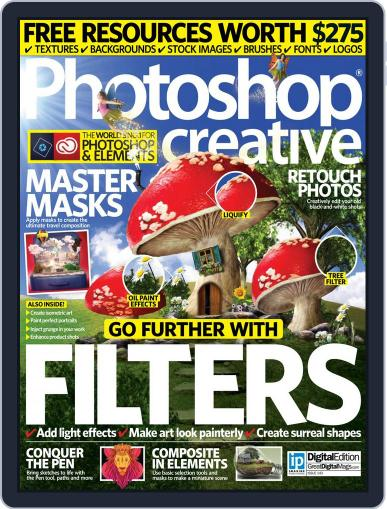 Photoshop Creative August 18th, 2016 Digital Back Issue Cover
