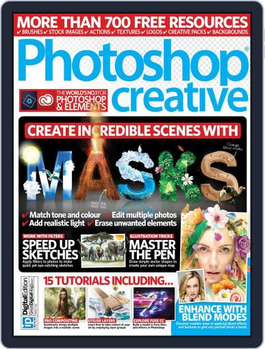 Photoshop Creative July 20th, 2016 Digital Back Issue Cover