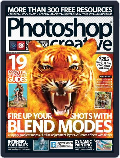 Photoshop Creative June 23rd, 2016 Digital Back Issue Cover