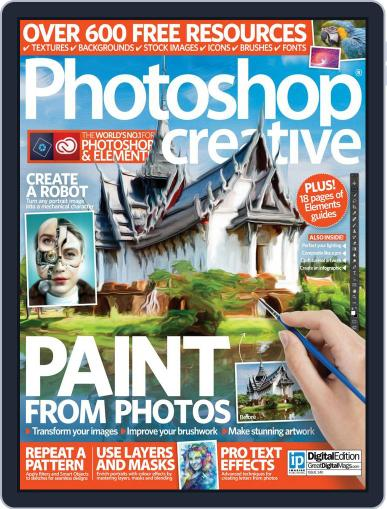 Photoshop Creative May 26th, 2016 Digital Back Issue Cover