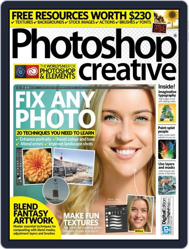 Photoshop Creative April 28th, 2016 Digital Back Issue Cover