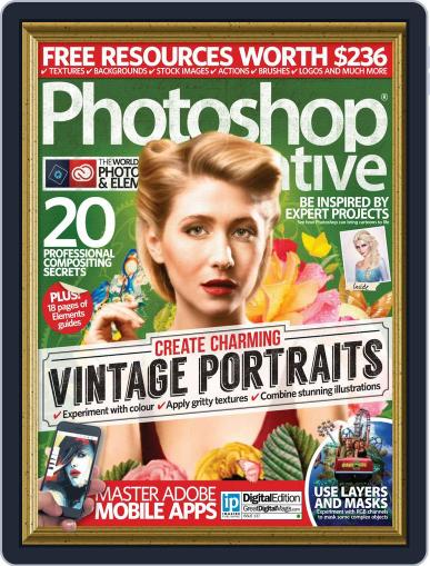 Photoshop Creative March 3rd, 2016 Digital Back Issue Cover
