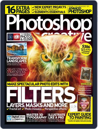 Photoshop Creative February 4th, 2016 Digital Back Issue Cover