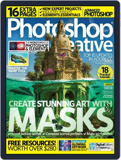 Photoshop Creative February 1st, 2016 Digital Back Issue Cover