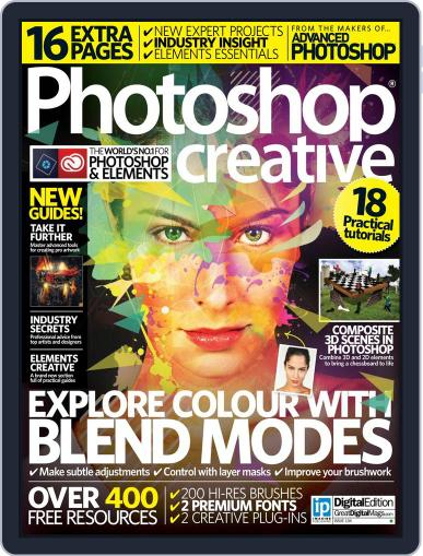 Photoshop Creative December 31st, 2015 Digital Back Issue Cover