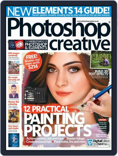 Photoshop Creative November 30th, 2015 Digital Back Issue Cover