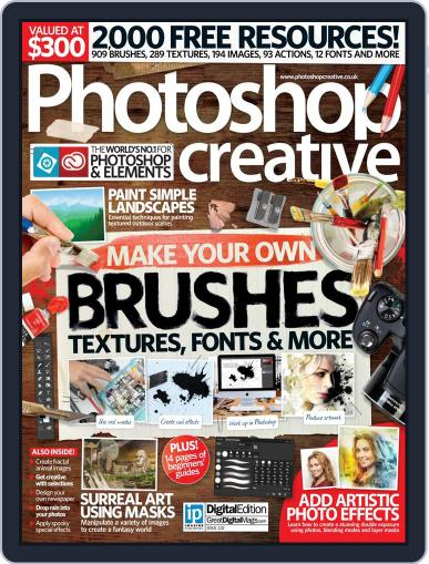 Photoshop Creative October 31st, 2015 Digital Back Issue Cover