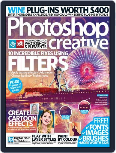 Photoshop Creative September 30th, 2015 Digital Back Issue Cover