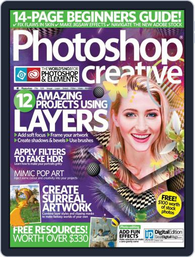 Photoshop Creative August 19th, 2015 Digital Back Issue Cover