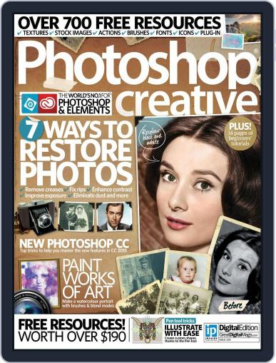 Photoshop Creative July 31st, 2015 Digital Back Issue Cover