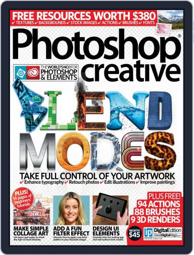 Photoshop Creative June 30th, 2015 Digital Back Issue Cover