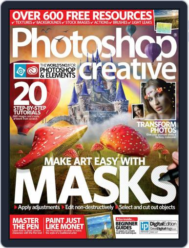 Photoshop Creative May 31st, 2015 Digital Back Issue Cover