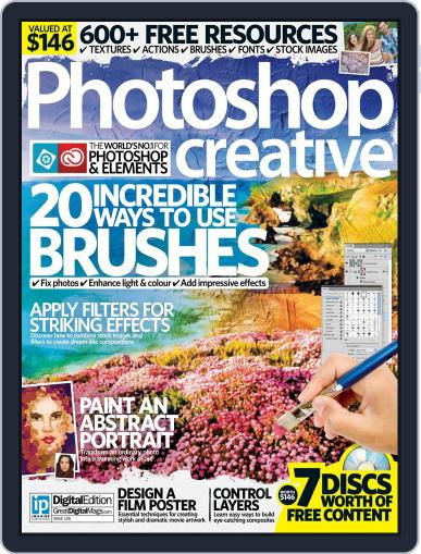 Photoshop Creative April 30th, 2015 Digital Back Issue Cover