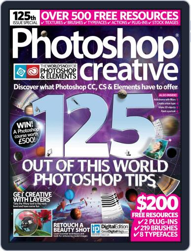 Photoshop Creative March 31st, 2015 Digital Back Issue Cover