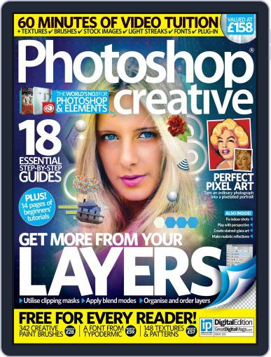 Photoshop Creative January 31st, 2015 Digital Back Issue Cover