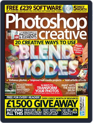 Photoshop Creative December 31st, 2014 Digital Back Issue Cover