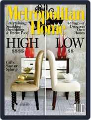 Metropolitan Home (Digital) Subscription November 6th, 2008 Issue