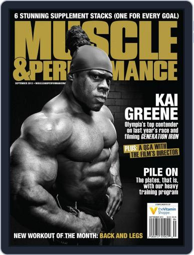 Muscle & Performance August 27th, 2013 Digital Back Issue Cover