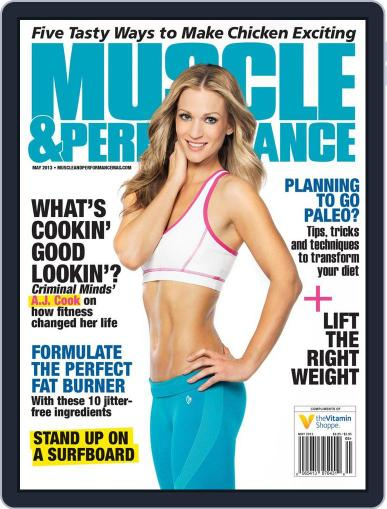 Muscle & Performance April 30th, 2013 Digital Back Issue Cover