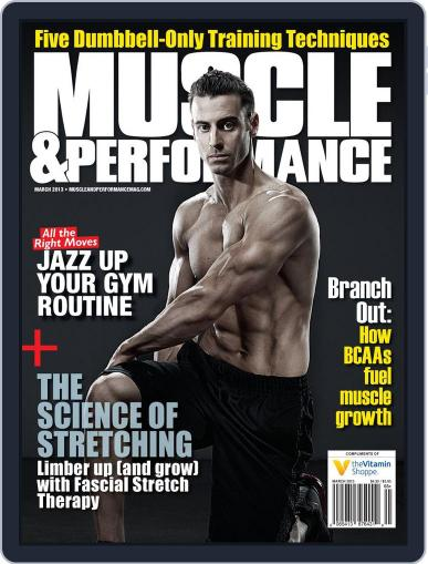 Muscle & Performance February 26th, 2013 Digital Back Issue Cover