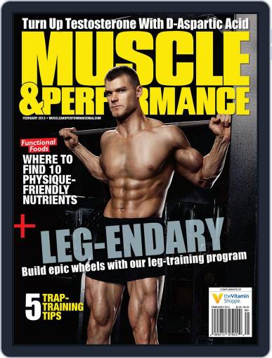Muscle & Performance February 1st, 2013 Digital Back Issue Cover