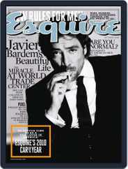 Esquire (Digital) Subscription September 28th, 2010 Issue
