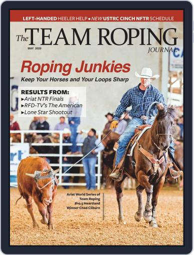 The Team Roping Journal (Digital) May 1st, 2020 Issue Cover