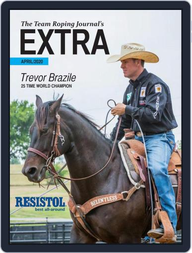 The Team Roping Journal (Digital) April 15th, 2020 Issue Cover