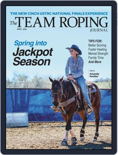 The Team Roping Journal (Digital) April 1st, 2020 Issue Cover