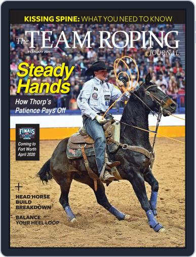 The Team Roping Journal (Digital) February 1st, 2020 Issue Cover