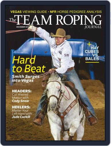 The Team Roping Journal (Digital) December 1st, 2019 Issue Cover