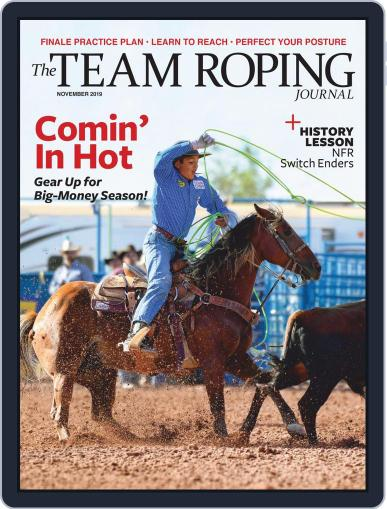 The Team Roping Journal (Digital) November 1st, 2019 Issue Cover